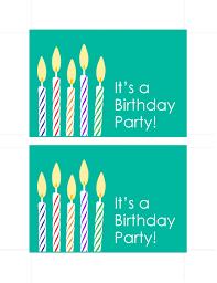 Photo Invitation Postcards Birthday Invitation Postcards 2 Per Page