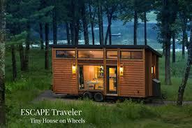 where to park tiny house. ESCAPE-Traveler-Tiny-House-on-Wheels Where To Park Tiny House
