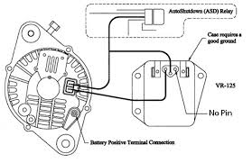 external regulator alternator wiring diagram external external voltage regulator wiring diagram dodge jodebal com on external regulator alternator wiring diagram