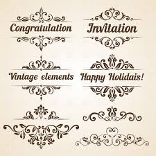 collection of vine ornate frames and design elements vector image vector ilration of borders and to zoom