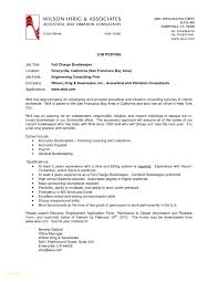 Bookkeeping Resume Example Bookkeeping Resume Sample Best Of Bookkeeper Resume Bookkeeper 47