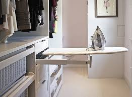 Ironing board furniture Fold Down Remodelista Design Sleuth Sources For Builtin Ironing Boards Remodelista