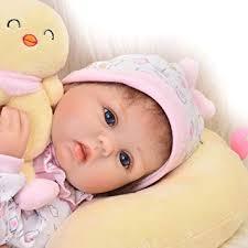 KEIUMI 17''/42 CM Real Life Baby Dolls Reborn Newborn Soft Silicone ...