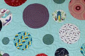 Bubbles II — Julie Responsibly & I remember this quilt being hard. It is actually the easiest quilt ever -  you just pick a bunch of fabrics from your stash, trace some circles, and  applique ... Adamdwight.com