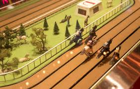 Wooden Horse Racing Game And they're off at the Sigma Derby horse race Las Vegas Review 95