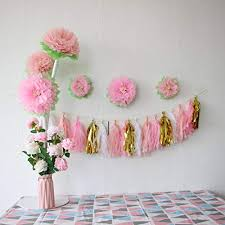 Paper Flower Archway Mybbshower Pinks Paper Flowers Nursery Home Wall Decoration