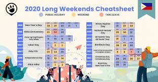 2020 calendar and cheat sheet