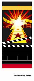 Design Party Invitations 034 Cinema Ticket Invitation Template Free 766160 Movie