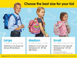 Backpack Volume Chart Kids Backpacks Lunchboxes And Kids Accessories Bixbee