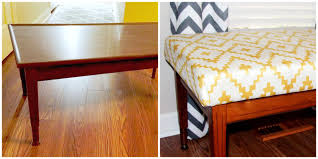tutorial by mod home ec teacher to guide me and southwest diamond chevron faux suede fabric by fable design i had planned to tuft the bench seat