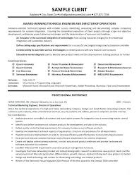 Systems Engineer Cv Example Resume Sample 0 Apr10 2 Certified System