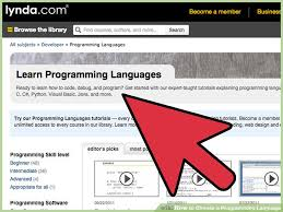 how to choose a programming language steps pictures  image titled choose a programming language step 3