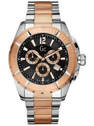 gc watches view the creative watch co range gc men s designer sports class xxl two tone rose gold chronograph