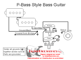 p bass wiring diagram the following resembles how the top Fender Squier Guitar Wiring Diagram p bass wiring diagram the following resembles how the top schematic is wired it should be noted that both the lamps must be on the same circuit otherwise fender squier bullet strat wiring diagram