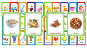 Food Flash Cards Flashcards Food And Drinks Learn Words In English Youtube
