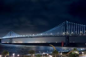 Bay Bridge Lights Project San Francisco Oakland Bay Bridge The Bay Lights San
