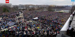 trump inauguration crowd size fox proof real inauguration crowd size vs fake news footage of