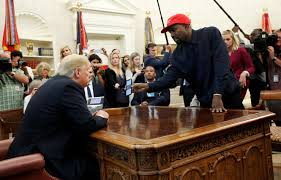Office meeting pictures Oval Kanye Calls Himself crazy Motherfer In Oval Office Meeting With Trump Yahoo Kanye Goes On Extended Rant In Meeting With Trump