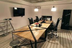 industrial office design. Industrial Look Office Interior Design