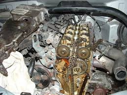 2002 chevy tracker timing chain carnage suzuki forums suzuki see the hole in the front cover