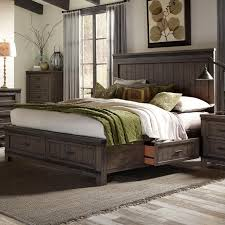 Liberty Furniture Bedroom Sets Liberty Furniture Thornwood Hills Queen Two Sided Storage Bed With