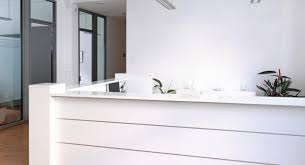 office reception counter. Stone Reception Desks And Office Fit Out Contractors. White Desk Counter
