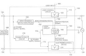 patent us7420142 power control module for electrical appliances patent drawing