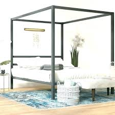 Beds With Canopy Queen Bed Frame For Gold White Ikea – Interior Home ...