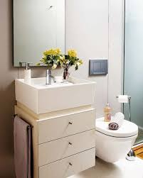 Bathroom Interiors Bathroom Bathroom Design With White Floating Sink Plus Storage