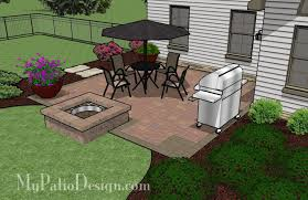 Patio Design Ideas With Fire Pits easy to build patio with fire pit patio designs and ideas wonder if i