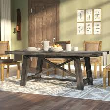 dark wood round table and chairs exquisite farmhouse dining tables birch lane in dark wood extending