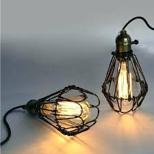 rustic wire chandelier wire