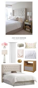 Sunland Home Decor Copy Cat Chic Room Redo Cozy Blush Bedroom Copy Cat Chic