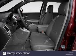 2007 Chevrolet Equinox LT in Red - Front seats Stock Photo ...