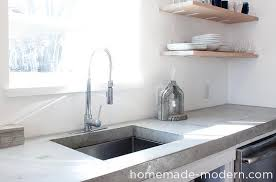 Small Picture HomeMade Modern EP87 Concrete Kitchen Countertops