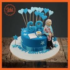 68th Birthday Fondant Cake Delivery All Over Karachi