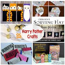 harry potter crafts printables potions erbeer chocolate frogs banners bookmarks