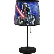 Kids Bedroom Lamp Star Wars Darth Vader Table Lamp Walmartcom