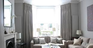 image of curtain rod for bay window canada