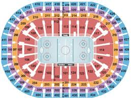 Montreal Canadiens Bell Center Seating Chart Centre Bell