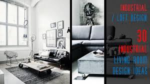 Industrial Design Living Room 30 Industrial Living Room Design Ideas Youtube