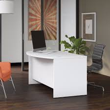 bush business furniture series bow. Bush Business Furniture SCD160WH - Studio C 60W X 36D Bow Front Desk In White Series H