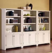 bookcase with glass doors and drawers great bookshelf white plus decorating ideas 38