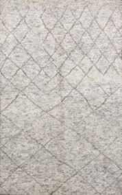 rugsville moroccan beni ouarain grey 12184 wool rug 12184