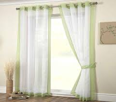 mayfair lime voile curtain