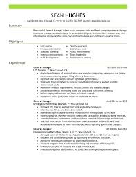 Retail Manager Resume Examples Cool 60 Inspirational General Manager Resume Summary Examples
