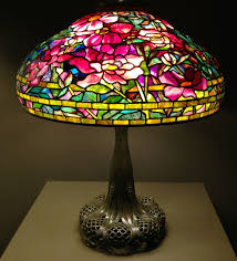 tiffany stained glass lamp. Beautiful Leaded Glass Lamps By Louis Comfort Tiffany, C. 1905-1910 Tiffany Stained Lamp A