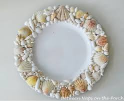 Shell Designs Pottery Barn Shell Chargers For A Beach Themed Tablescape Knock