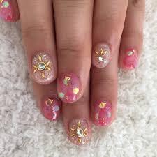 夏先取り透明感がかわいいピンクネイル Niki Nail Blog Mili