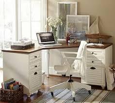 Office home desk Design Whitney Corner Desk Pottery Barn Whitney Wingate Office Pottery Barn